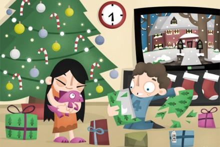 Modern Christmas A4man