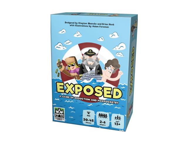 Exposed Box Art - A4man