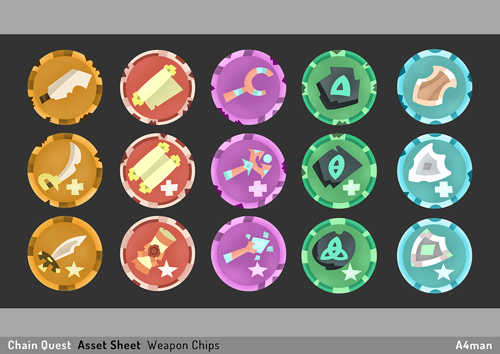Chain Quest Asset Sheet A4man 02