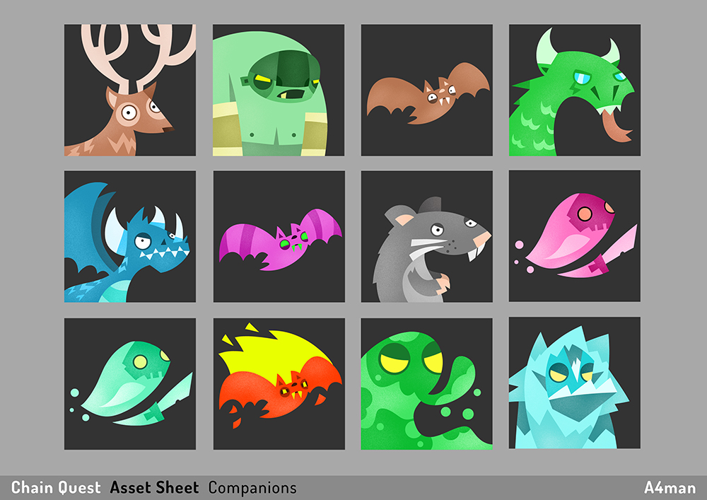 Chain Quest Asset Sheet A4man 03