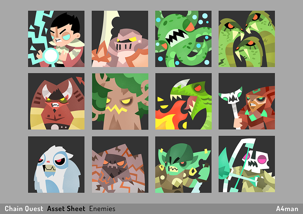 Chain Quest Asset Sheet A4man 04