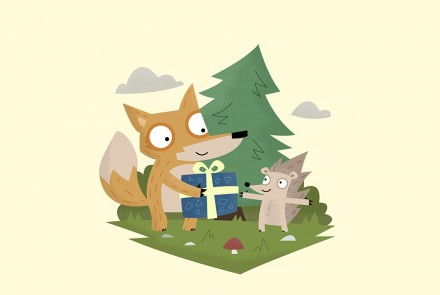 Fox Illustrator DONE