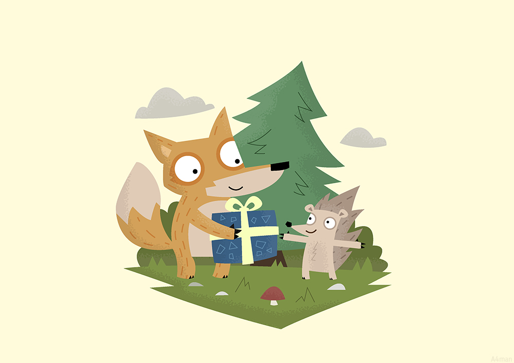 Fox Illustrator DONE