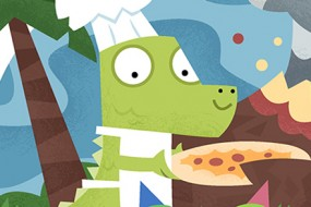 Dino Pizza Party