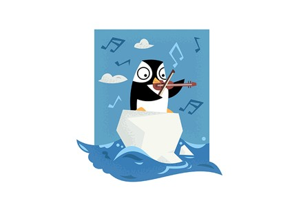 South Pole Musical Penguin - Featured Image - Adam Foreman
