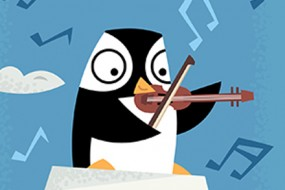 South Pole Musical Penguin